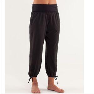 Lululemon Om Sweatpants Joggers Black